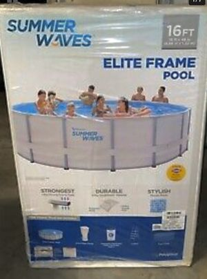 Pool 16ft 42 inch / Perfect for the heat !!!!!!!!!!!!!!!!!!!!!!!! for Sale in Modesto, CA