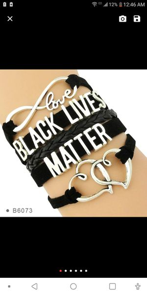 Black lives matter bracelet for Sale in Valley Grande, AL