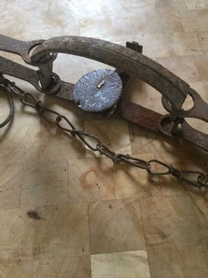 Vintage antique animal trap for Sale in Scappoose, OR