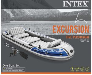 Intex Excursion Inflatable Boat Series for Sale in Cumming, GA