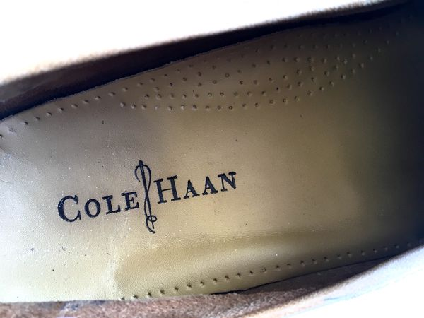 dce17844696 Cole Haan Men s Tan Brown Leather Loafers C08133 Size 12M for Sale ...