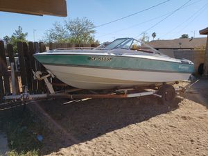 Larson boat and trailer for Sale in Las Vegas, NV