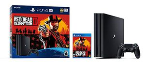 PlayStation 4 Pro 1TB (Red Dead Redemption Bundle) for Sale in Irvine, CA
