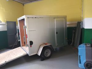 Stealth Cargo Pro aluminum 5x8 enclosed cargo trailer with RV side door for Sale in Bridgeport, PA