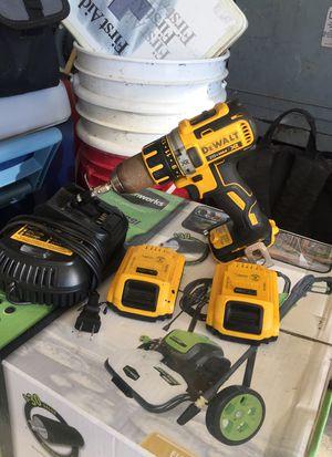Dewalt 20v max xr drill 2 xr batt and charger for Sale in New Bern, NC