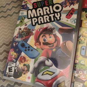 Mario Party Nintendo Switch for Sale in Orlando, FL