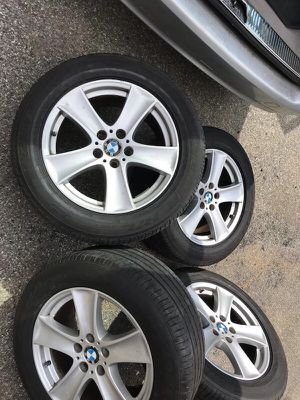 ⭐ BMW Wheels and tires 255/55r18 RFT TPMs for Sale in Everett, MA