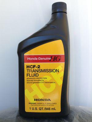 Honda Genuine HCF-2 Transmission Fluid for Sale in Tampa, FL