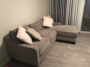 Couch with sectional and storage for Sale in Phoenix, AZ