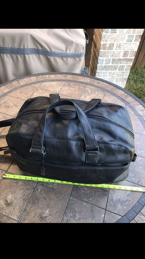 CK real/ genuine leather duffel bag . OBO for Sale in Mesquite, TX