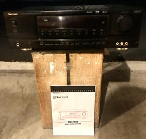 SHERWOOD RD-7100, AND ORIGINAL MANUAL for Sale in Cypress, CA