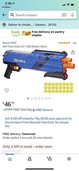 2 new Nerf guns for Sale in Gainesville, VA