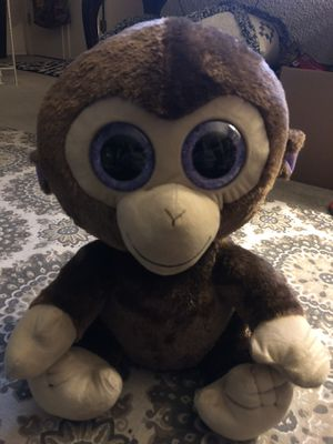 Large Beanie Baby Monkey for Sale in Austin, TX