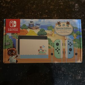 Nintendo Switch Animal Crossing Edition Brand New for Sale in Sacaton, AZ