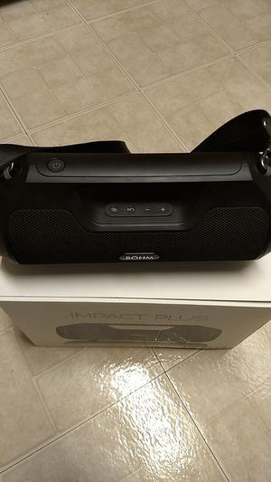 Bohm Impact Plus Bluetooth Speaker - Deep, Full Bass - Comparable to JBL Extreme 2 for Sale in Herndon, VA