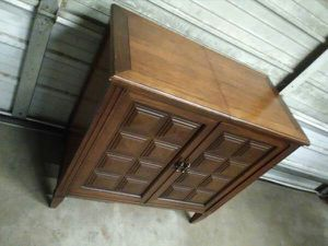 Large VTg Double Door SEWING Table 32x17x31 for Sale in Oklahoma City, OK