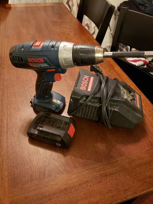 Bosch 18v compact cordless drill $40 FIRM PRICE for Sale in Redlands, CA