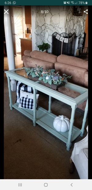 Sofá table/ entry table (PENDING PICK UP) for Sale in Spring Valley, CA