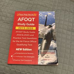 AFOQT Study Guide for Sale in Vancouver,  WA
