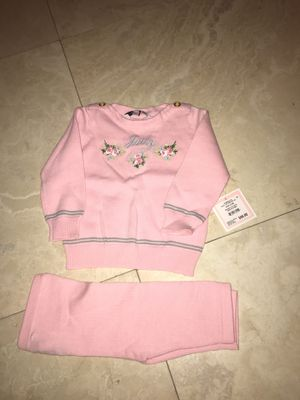 Beautiful baby set new with tags! Juicy couture for Sale in Dearborn, MI