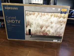 Samsung 55 inch 4K curved TV for Sale in Pasadena, CA