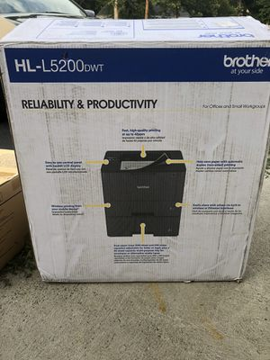 Brother small business printer for Sale in Attleboro, MA