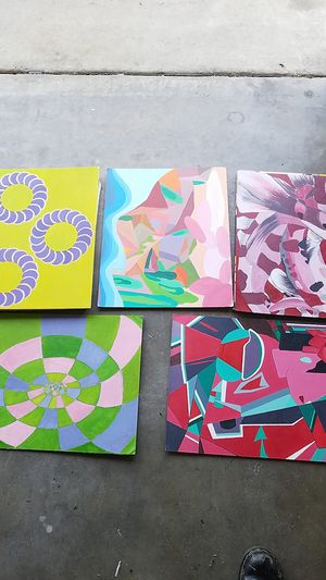 Art painting abstract for Sale in Anaheim, CA