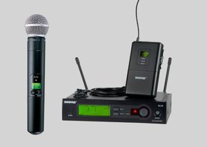 SHURE SLX COMBO SYSTEM SM58 AND BODY PACK TRANSMITTERS for Sale in Reedley, CA