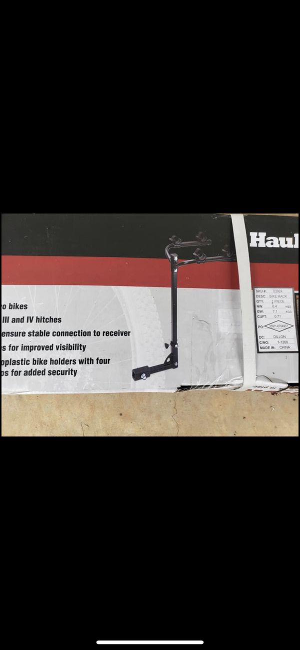 HAUL MASTER TWO BIKE HITCH MOUNT