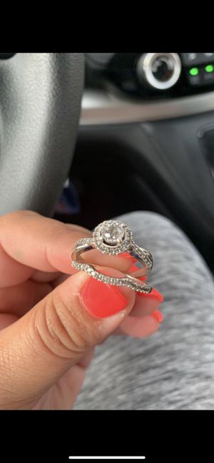 Engagement Ring and Wedding band for Sale in Marysville, OH