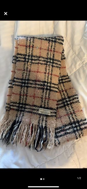 Burberry scarf for Sale in Richmond, CA
