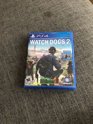 Watch Dogs 2 for PS4 for Sale in Pompano Beach, FL