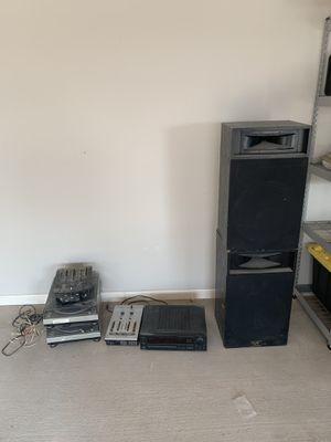 Gemini Turntables, Numark Mixer, Speakers for Sale in Monahans, TX
