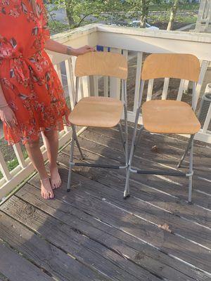 Folding Bar Bistro Stools for Sale in Richmond, VA
