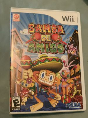 SAMBA DE AMIGO NINTENDO Wii for Sale in Brooklyn Center, MN