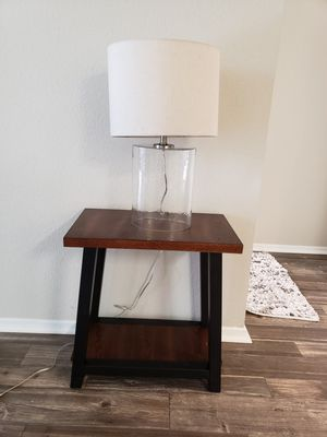 Lamp and table for Sale in Fort Myers, FL