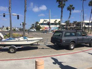 16' pacific boat trailer for Sale in Long Beach, CA
