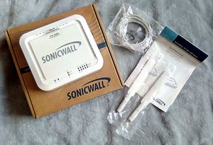 SonicWall TZ100 5-Port Wireless-N Router for Sale in Austin, TX