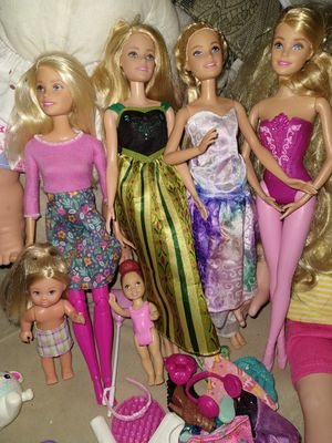 Barbie lot asking 30$ for all great condition for Sale in Oregon City, OR