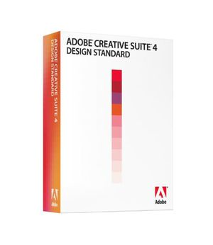 AdobeCreative Suite Design Standard CS4 software for Mac OS for Sale in San Mateo, CA