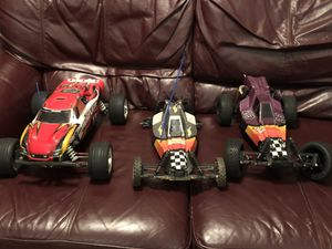 Very Modded Traxxas Lot for Sale in Garner, NC