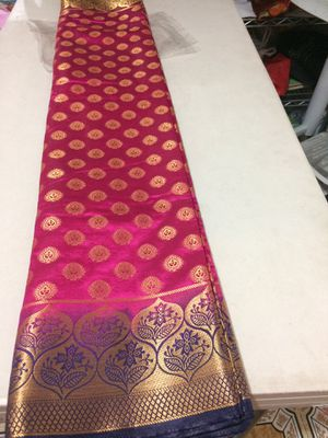 Indian Chanderi Silk Saree for Sale in Queens, NY