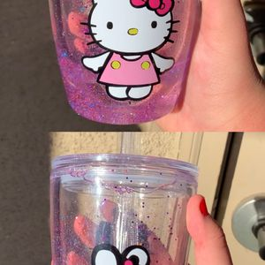 Hello Kitty Tumbler And Makeup Pallete for Sale in Whittier, CA