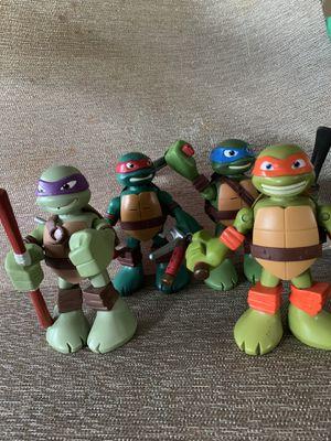Ninja turtles figures for Sale in Tampa, FL