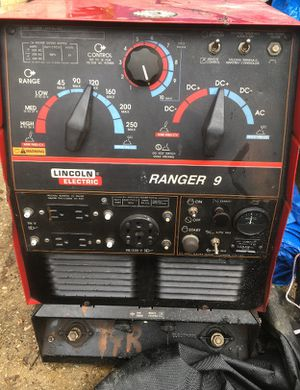 I sell Ranger 9-250 Koler motor welding machine with 1659 hours worked, I sell it at the price of $ 2500 or best offer works perfectly, you can try it for Sale in Silver Spring, MD