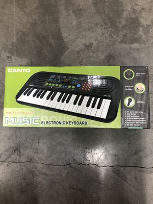 Canto Music Electronic Keyboard for Sale in Los Angeles, CA