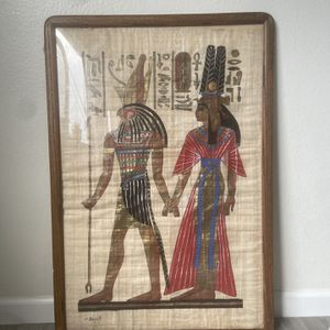 Egyptian Framed Picture for Sale in Montebello, CA