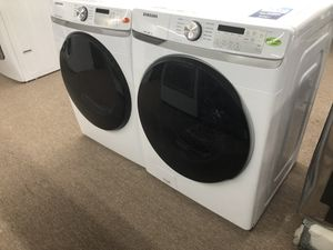 Samsung white front load washer and dryer $39 down for Sale in Houston, TX