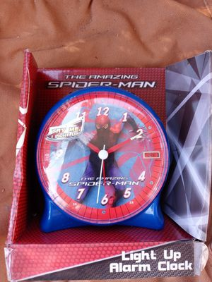 Kids spider man alarm clock for Sale in High Point, NC