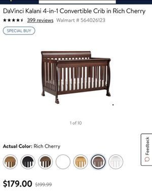 Baby crib 4 in 1 convertible for Sale in Redmond, WA